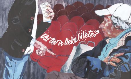 Vienu biļeti animētā titulbilde (autors - Toms Kalninskis)